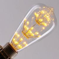 Wholesale Vintage Edison Bulb LED W ST64 Incandescent Light lamp Bulb E27 Light LED Bulb Filament Bulb Lighting Tubes Edison Bombilla