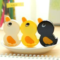 Wholesale Promotion New Arrival Kawaii Duck Cartoon Animals Correction Tape Fluid School Office Supply