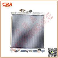 Wholesale CRA Performance M T Aluminum Car Radiator for HONDA Civic Del Sol