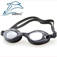 Wholesale New Adult swimming goggles Anti fog Waterproof Protection men women swim glasses goggle for arena pool sport Water Diving Equipment SY260