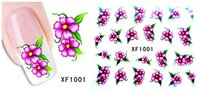 Wholesale 2016 Top Sheet Beauty Floral Design Patterns Stickers Mixed Decals Transfer Manicure Tips Nail Art Decorations XF
