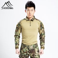 Wholesale Hunting Jackets For Men Army Camouflage Coat Tactical Jacket Windproof Windstopper Color Hunting Camping Hike Outdoor Clothes