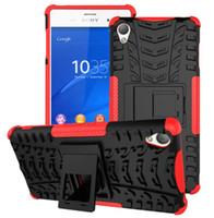 al por mayor los teléfonos xperia-Funda para SONY XPERIA X Compact XA Ultra XZ C5 C6 E5 Caja de teléfono celular híbrido