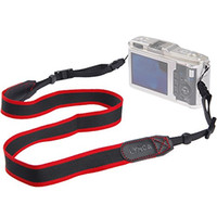 Wholesale Universal Soft SLR DSLR Camera Shoulder Strap Neck Belt Simple Stripe Color Style Strong Nylon Fabric