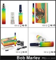 Cheap Snoop Dogg Bob Marley Starter Kits Dry Herb Vaporizer Vape Pen Kit E Cig Herbal VS Snoop Dog G Pro Kit DHL Free