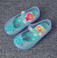 baby rain shoes - Mini Melissa Shoes Summer Newest Baby Girl Frozen Jelly Sandals Shoes Children Toddler Kids Cartoon Snowflake Summer Sandals Rain shoes