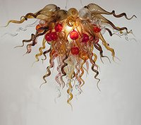 art unusual - v v DTY Elegant Home Decorative Unusual Hand Blown Art Glass Chandelier With Led Bulbs
