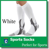 Wholesale High Quality Compression Socks Sports Stockings for Outside Running Marathon Football Women Athletic Riding Bike Long Socks pairs