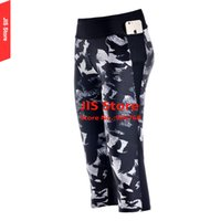 american apparel yoga pants - JIS Fitness Pants Women Sexy American Apparel Running GYM Pants Leggings Punk Style Eagle Printed Thin Cropped Yoga Pants