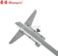 Wholesale Cheap Caliper - Wholesale-Cheap depth indicator, depth caliper vernier depth gauge 0-200MM Depth gage guanglu free shipping