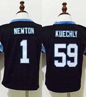 baby luke - 59 Luke Kuechly Cam Newton Football Baby Jeresys Black Toddler Kids Years Jerseys