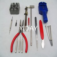 Wholesale Manfuactured by Chinese factory price Watchband disassembly tool kit Pieces Watch Repair Tool Kit Red