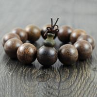 american sink - Wooden bracelet authentic old Shen Vietnamese old sinking bracelet cm Buddha bracelet sandalwood bracelet