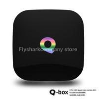 google internet tv box - 2G G XBMC TV Q Box Android S905 Quad core bits TV Internet Box WiFi Gigabit LAN Bluetooth H K Hd TV Box Better Than M8S GB