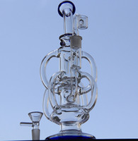big barrels - Bong new big size glass bong water pipes incycler water pipes barrel recycler Recycler with two accessories mm joint