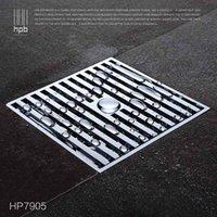 Wholesale Han Pai Brass Bathroom Sewer Filter Deodorization Water Outlet Shower Floor Drain banheiro salle de bain HP7905