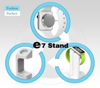 aluminium display stands - New arrival holder for apple watch stand display holder keeper aluminium alloy home charging dock three colors Charger Bracket