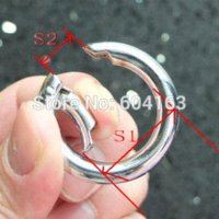 metal o rings - 5 snap clip trigger spring gate O ring quot mm for keyring buckle Bronze Bag Parts amp Accessories