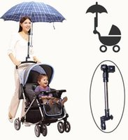 Wholesale Sun shading baby stroller umbrella mount sun umbrella stand accessories for strollers carriage pram carrinho cart pushchair car