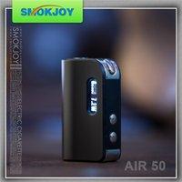 Wholesale 2016 Vapour Smokjoy Air TC Mod Mini Mod W Screen Vape Box attery Electronic Cigarette Ecigs Black Blue Silver