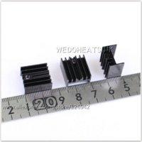 aluminum extrusion material - mm Black Anodized Extrusion Aluminum Heatsink TO220 TO220 heatsink aluminum heatsink material