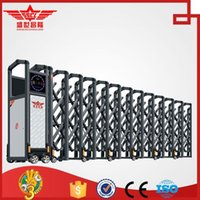 aluminum sliding gate - Aluminum sliding gate design for factory use L1529