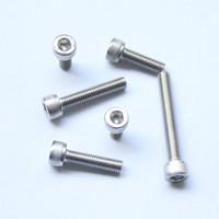 Wholesale M5 Thread Dia mm A2 Stainless Steeln Steel Hex Head Socket Cap Screws Metric