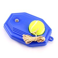 Wholesale Style Tennis Ball Back Base Trainer Set Rubber Band for Single Training Practice