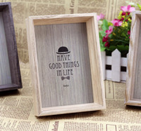 Wholesale Creative wood frame unique fashion personality wood frame