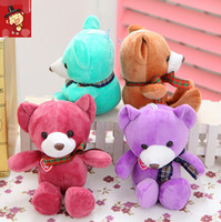 baby teddies - 18cm High Quality Super Kawaii Cute Lovely Teddy Bear Plush Toys Stuffed Dolls Wedding Decoration Baby Toy Baby Gift