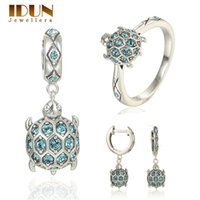 animal fine jewelry - Sterling Silver Jewelry vintage brand bridal jewelry sets women silver earring white fine couples jewelry birthday gifts SET