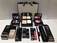 Wholesale Brand Channel High Quality Eye Shadow Eyeliner Mascara Lipstick Lip Gloss Blush Foundation Pieces makeup set Christmas gift