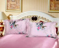 Wholesale 2016 New Arrival Natural Silk Pillowcases with Hidden Zipper Queen Size inches Luxury Pillow Covers for Skin and Facial Beauty