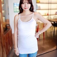Wholesale 2016 Strappy Vest Tank Tops Camisole Maternity Pregnant Casual T Shirt Breast Feeding vest Solid Tops For Push Up Pregnant Women