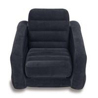Wholesale Genuine original INTEX Deluxe Single folding sofa beanbag bed inflatable recliner