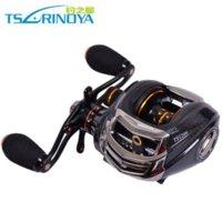Water Drop wheel bass fishing reel - Trulinoya Brand Right Handed baitcasting reel for Bass Carp Fishing Wheel BB reel winder