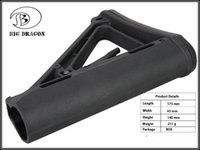 aeg stock - 2016 Tactical Plastic Drop in Replacement Butt Stock Carbine Stock for M4 M16 AEG Series black