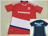 best buy train - DHL Mixed buy Middlesbrough home away tops soccer jerseys adult tops men de foot maillot best quality uniform training suits