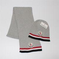 acrylic yarn brands - Hot Brand Winter Scarf Hat Suit Fashion Stripe Keep Warm Caps Scarf Unisex