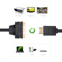 Wholesale Ugreen HDMI Male to DVI Female Converter HDMI to DVI M F adapter Support P for HDTV LCD