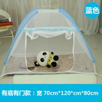 baby mosquito fish - Baby mosquito net cover folding bottomless baby bed nets cover installation encryption ger children baby bed nets