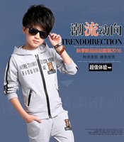 advance clothing - The boy handsome two piece clothes cotton fabrics Purchase in advance to hasten