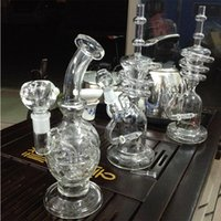 bend homes - Pretty Relax Home Fab Egg Glass Bong inches Skull Bong Water Pipe Glass pipe Dab Heady Two Functions Dry Bowl mm