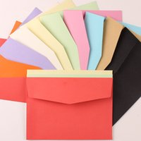Wholesale cm Thick Kraft Paper Envelopes For Wedding Invitation Cards Letter Paper Postcard Photo DIY Card Packaging