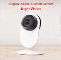 100% original Xiaomi Yi inteligente cámara, Xiaoyi hormigas inteligentes IP del webcam de la cámara del wifi inalámbrica circuito cerrado de camaras de leva de la visión nocturna Edición