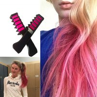 Wholesale New Semi Permanent Hair Color Chalk Powder With Comb High Quality Temporary Blue Hair Mascara Multicolor Dye