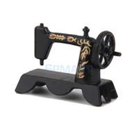 Wholesale 1 Dollhouse Miniature Black Sewing Machine