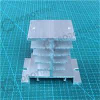 Wholesale 1pcs mm length mm width mm height High Quality Super Heat Conduction Aluminum Silver Heatsink