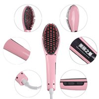 Wholesale 100 Orginal Beautiful Star NASV Hair Straightener Straight Hair PLUG Styling Tool Straightening Irons Digital Temperature Controller