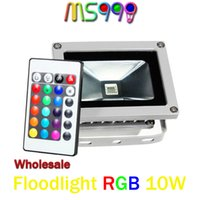 beautiful wall lights - Beautiful Design W RGB LED Outdoor Waterproof IP65 Flood Light Wash Floodlight Spotlight Lighting With Remote Controller AC85 V